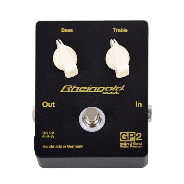 GP2 - 2-Band Guitar PreAmp Pedal
