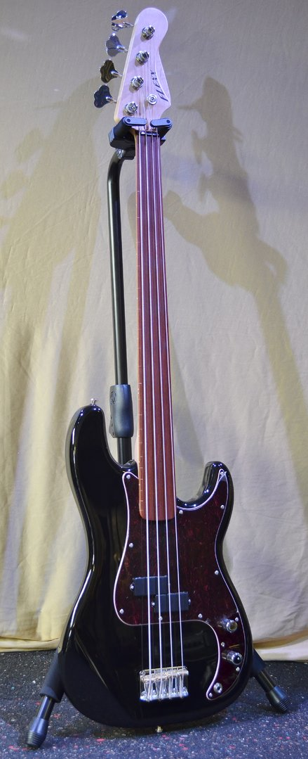 FLEXX Peter4 - Schwarz - Fretless