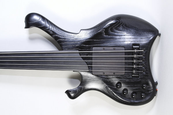 Waja Bass - Telio B.I.B 4 String fretless Lefty